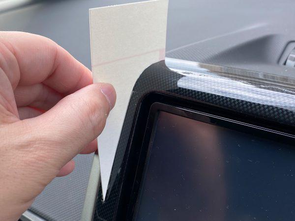 自在曲線定規のカーブをもとに型紙を作って微調整