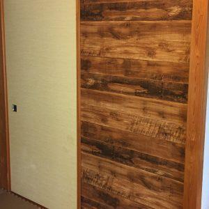 賃貸の和室にある押入れの襖を洋室っぽく自作