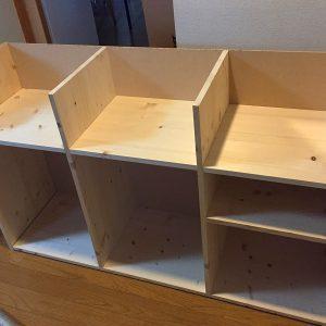 ゴミ箱付きキッチン収納を作る(2)