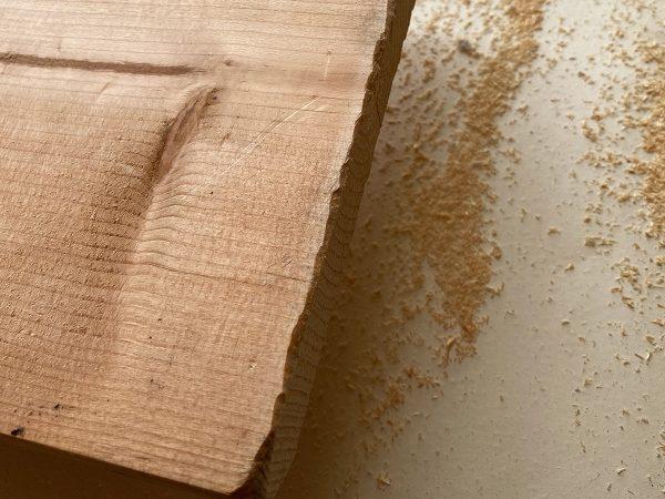 パイン材は古木っぽく