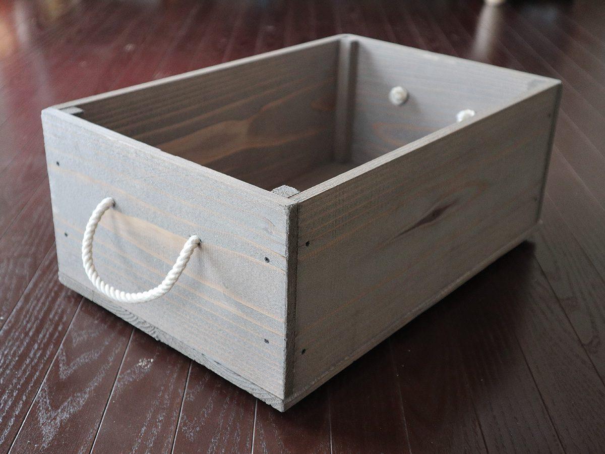 自作の木箱