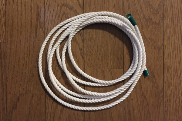 ホームセンターの綿ロープ
